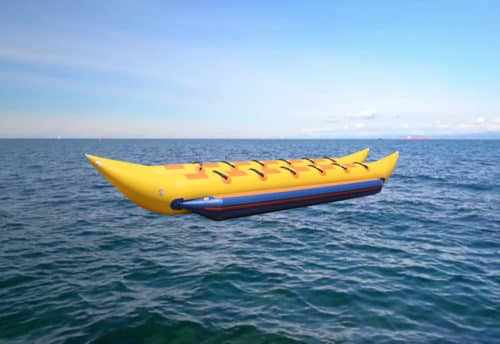 Banana Boat Ride in Dubai