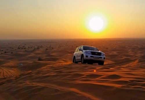 Morning Dune Bashing Dubai
