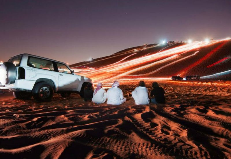 Overnight Desert Safari Dubai Package