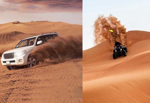 Desert safari with Quad Bike Dubai