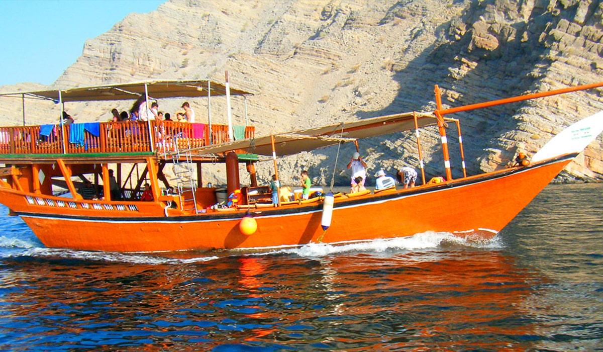 Beach Camp & Full Day Dhow Cruise at Khasab